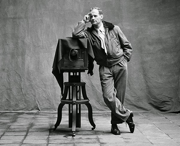 A rare self portrait of Irving Penn himself