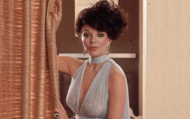 Joan Collins 2017 World's Most Beautiful Women