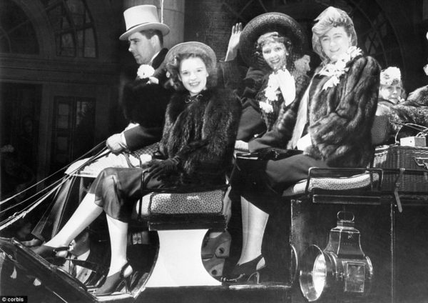 Judy Garland shooting 'Easter Parade""