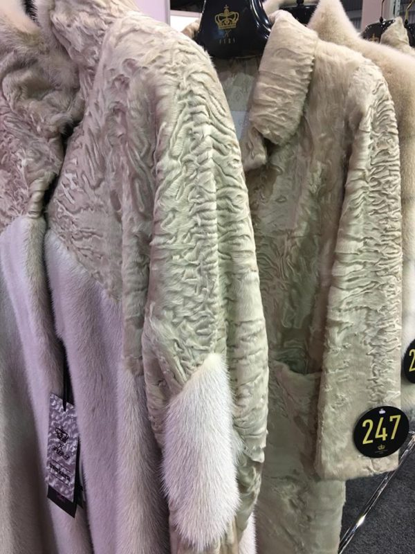 Konstantinou Furs at the 2017 ILOE SHow