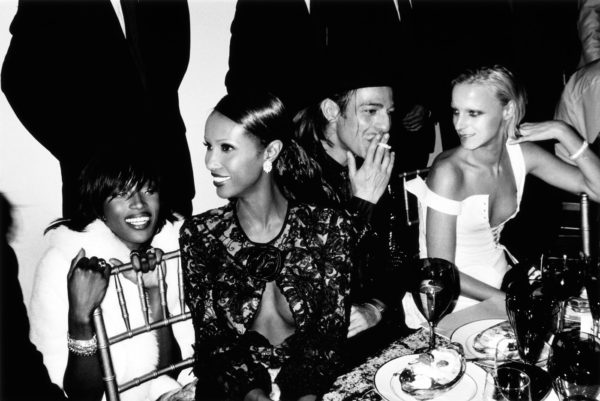 Mario Testino captured Campbell and Iman