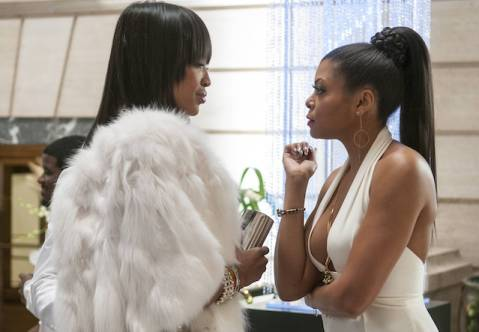 Naomi Campbell and Taraji P. Henson Face Off on 'Empire'