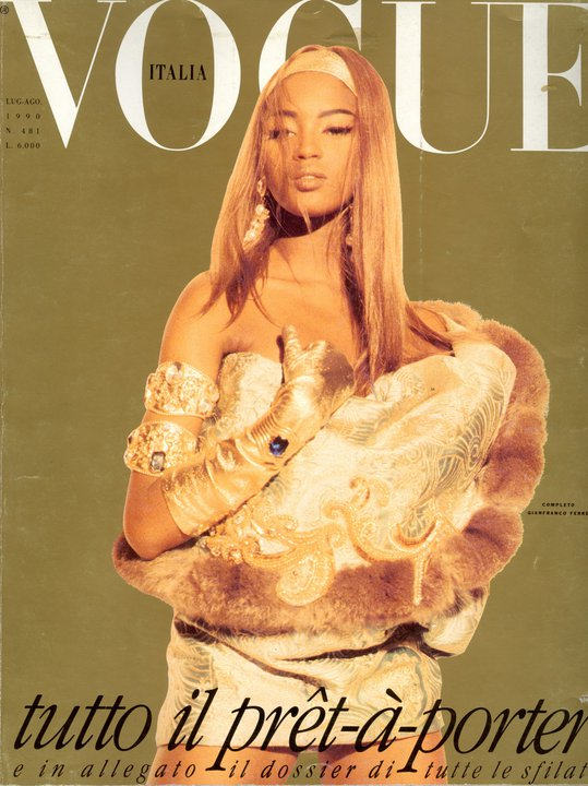Naomi-Campbell.Vogue-Italia.1990.cover