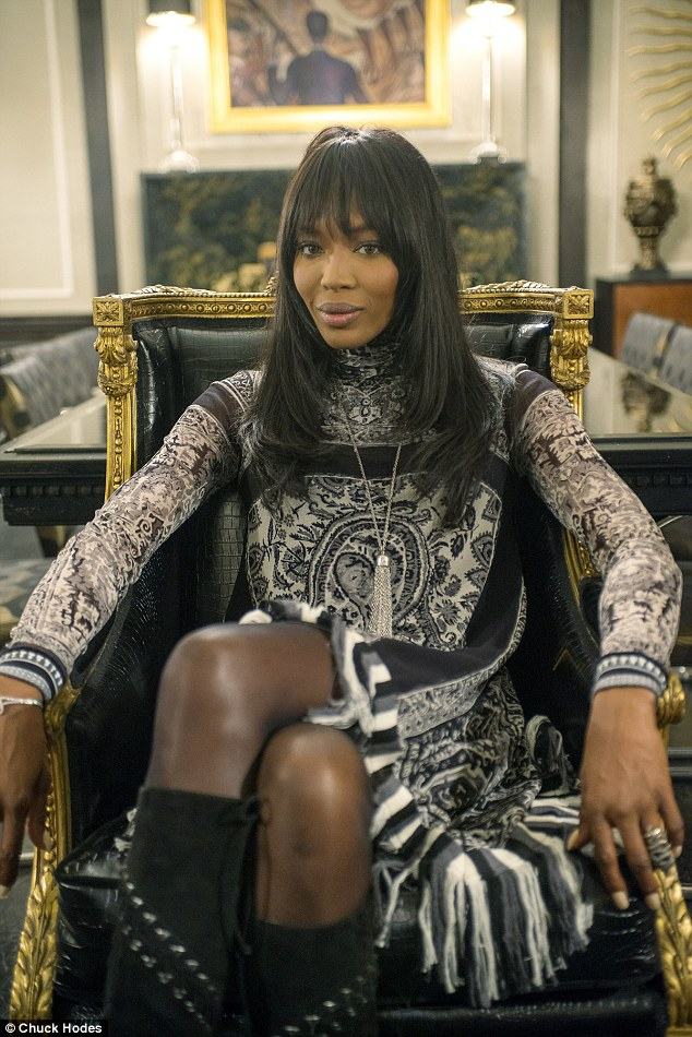 Naomi Campbell plays cougar Camilla Marks in Empire