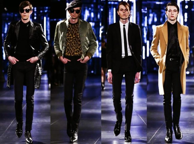 Saint Laurent Fall/Winter 2015 under Hedi Slimane