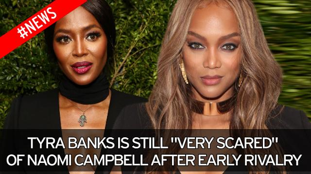 Tyra Banks and Naomi Campbell had a well documented rivalry with each other... it's tough at the top folks!
