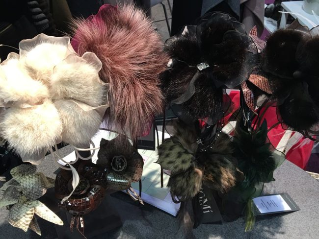 Unique fur accessories on display at ILOE Show