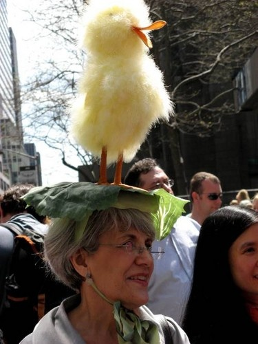 Easter Parade in full bloom in NYC
