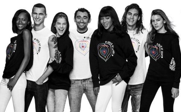 Recently Naomi Campbell, through her Fashion for Relief Charity, and Diesel teamed up to to help refugee kids