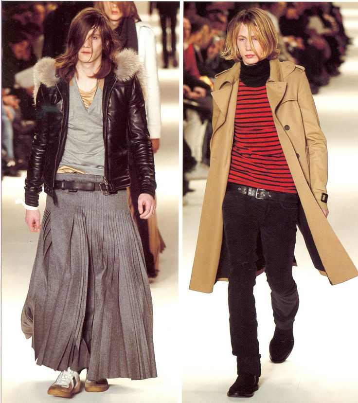 DiorHomme Autumn/Winter 2004 under Hedi Slimane