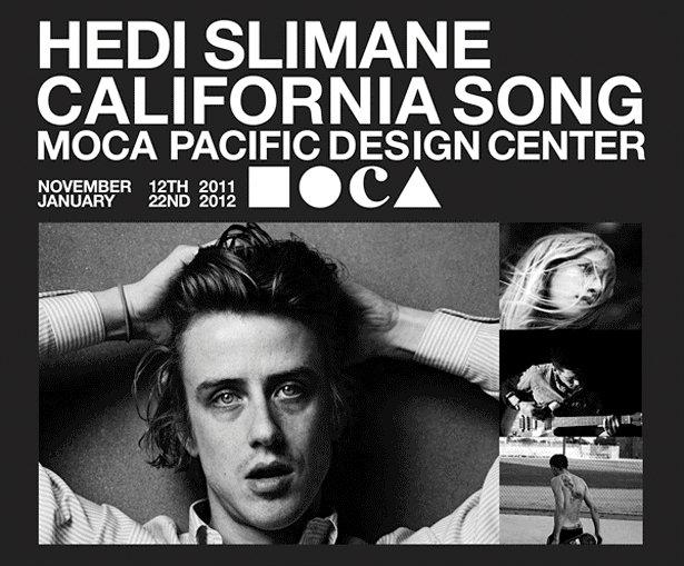 Hedi Slimane photography featured at the Pacific Design Center in West Hollywood, CA