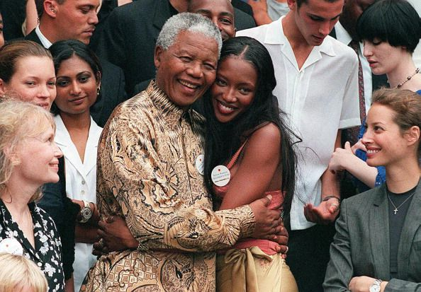 Naomi had a special bond and relationship with former South African Prime Minister Nelson Mandela and the two worked on various charitable missions for decades