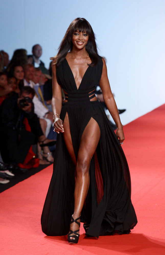 There was and is nobody like Naomi Campbell when it comes to the catwalk