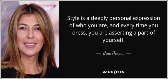 Words of wisdom from Nina Garcia