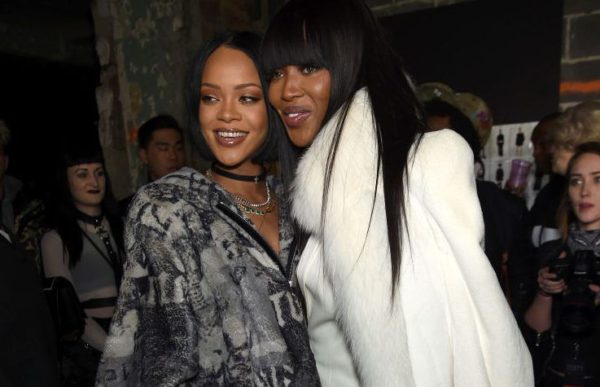 Naomi Campbell and RIhanna