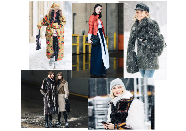 Runway trends vs 2017 Streetstyle trends