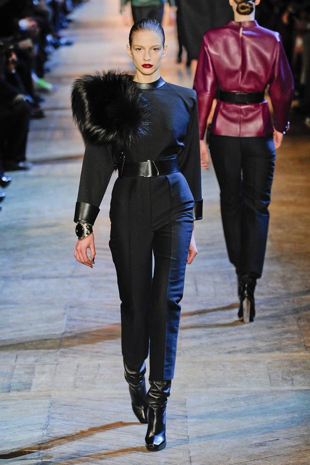 Yves Saint Laurent Fall 2012 under Hedi Slimane