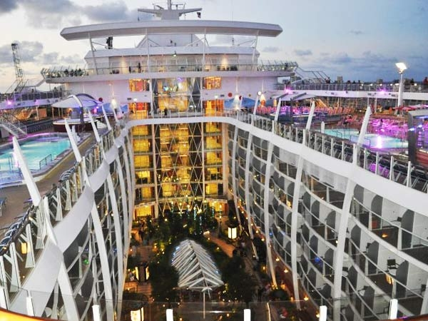 Inside Oasis of the Seas the Most Expensive Cruise Ships In The World