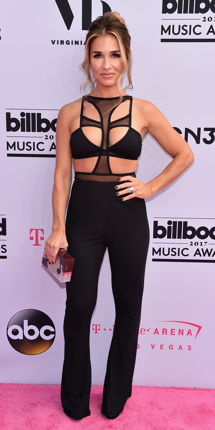 Jesse James Decker at the 2017 Billboard Music Awards