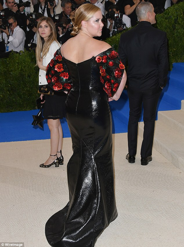 Amy Schumer at 2017 Met Ball