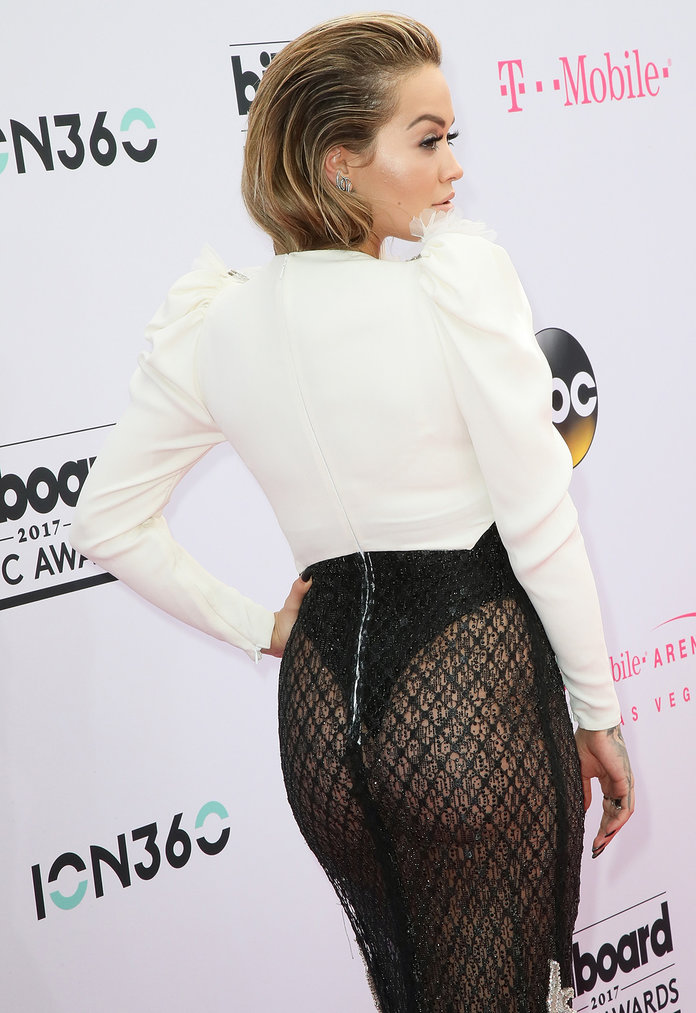 Rita Ora wearing Francesco Scognamiglio Couture at the 2017 Billboard Music Awards