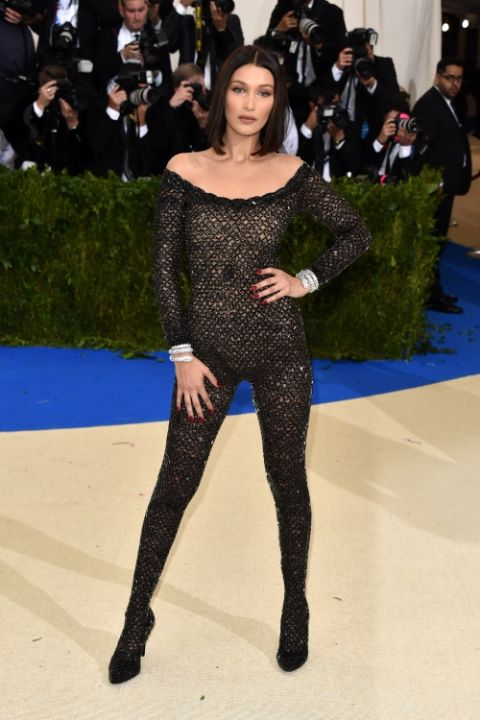 Bella Hadid at 2017 Met Ball