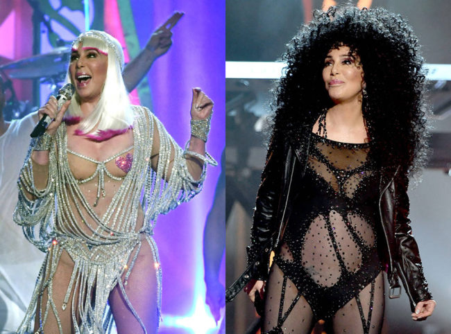 Cher gave heart pounding performance at the 2017 Billboard Music Awards in outfits that left nothing to the imagination. Move over Madonna...this is you walk the fine line between classy and trashy