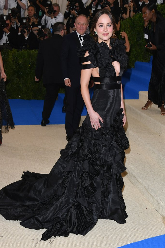 Dakota Johnson at 2017 met ball
