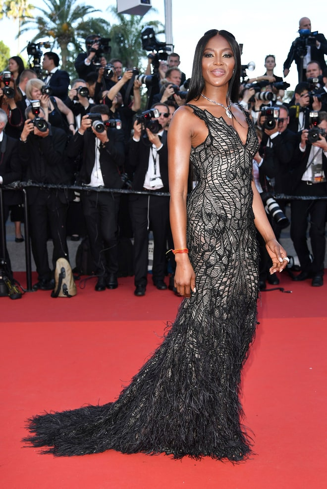 Naomi Campbell at Cannes Film Festival 2017