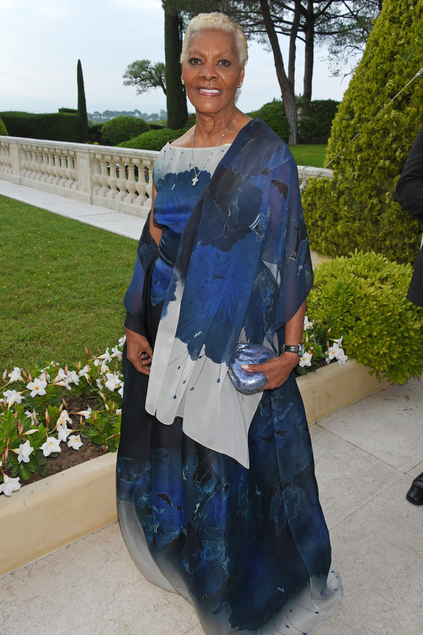 Dionne Warwick at Cannes Film Festival 2017