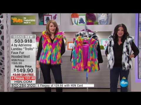 A faux fur collection sold through, home television shopping network, HSN continues to be a huge success and is working to make the Adrienne Landau brand truly household name.