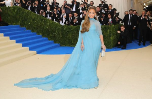 Jennifer Lopez at 2017 Met Ball