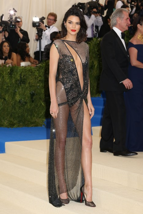 Kendall Jenner at 2017 Met Ball