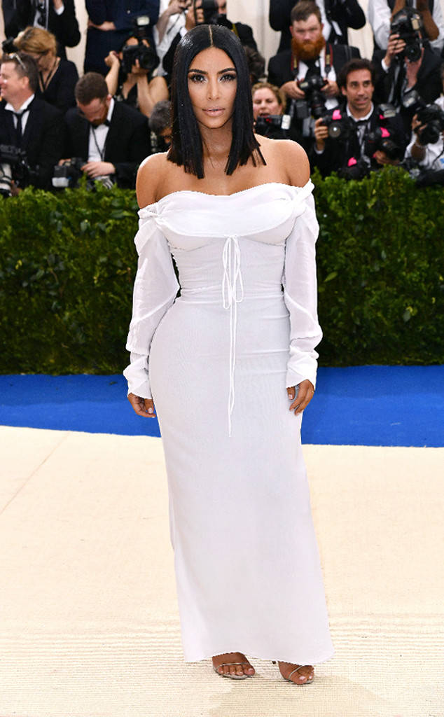 Kim Kardashian at 2017 Met Ball