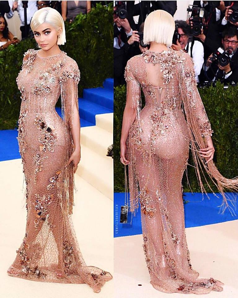 Kylie Jenner at 2017 Met Ball