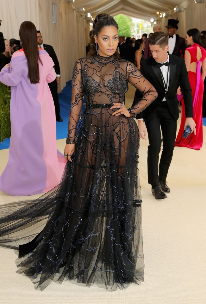 Lala Anthony at 2017 Met Ball