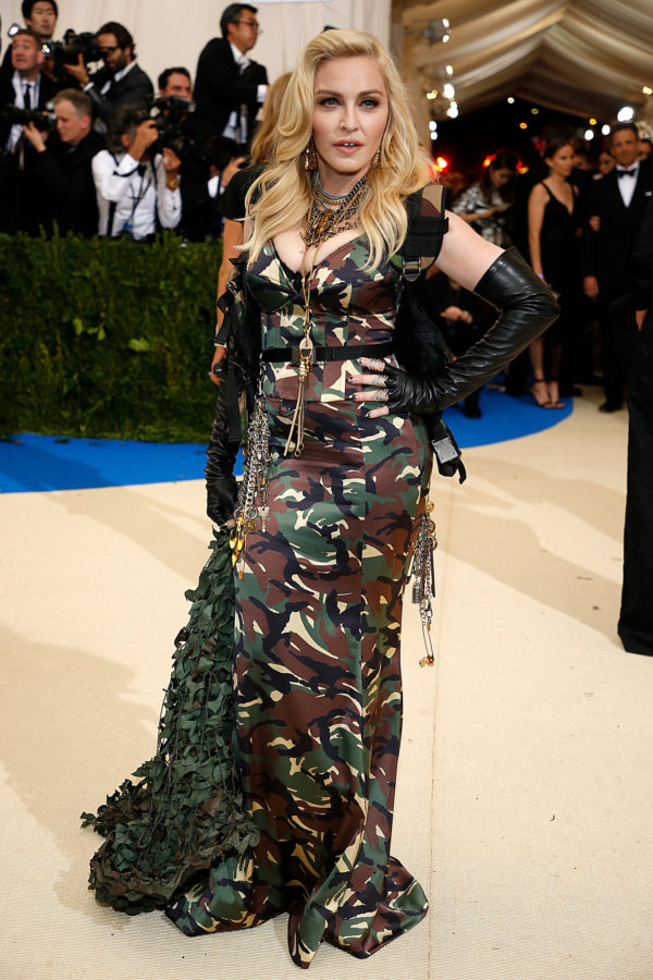 Madonna at 2017 Met Ball