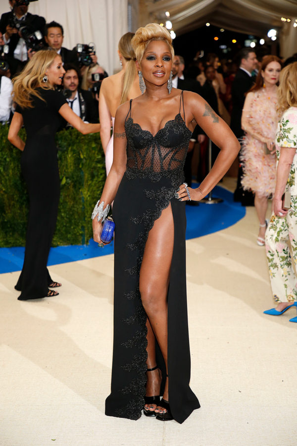 Mary J. Blige at 2017 Met Ball