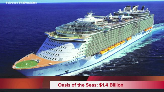 Oasis of the Seas the Most Expensive Cruise Ships In The World