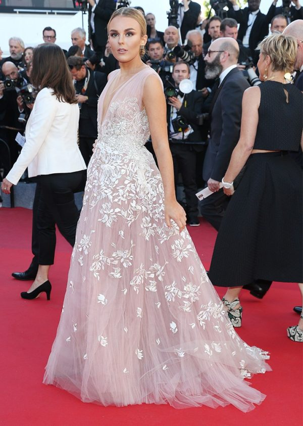 Talia Storm at Cannes Film Festival 2017