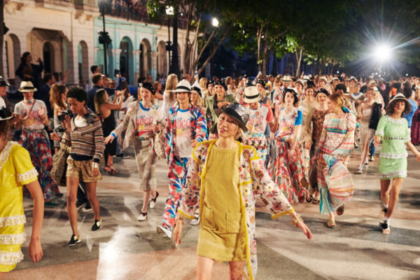 The Chanel cruise 2016/2017 show in Havana, Cuba