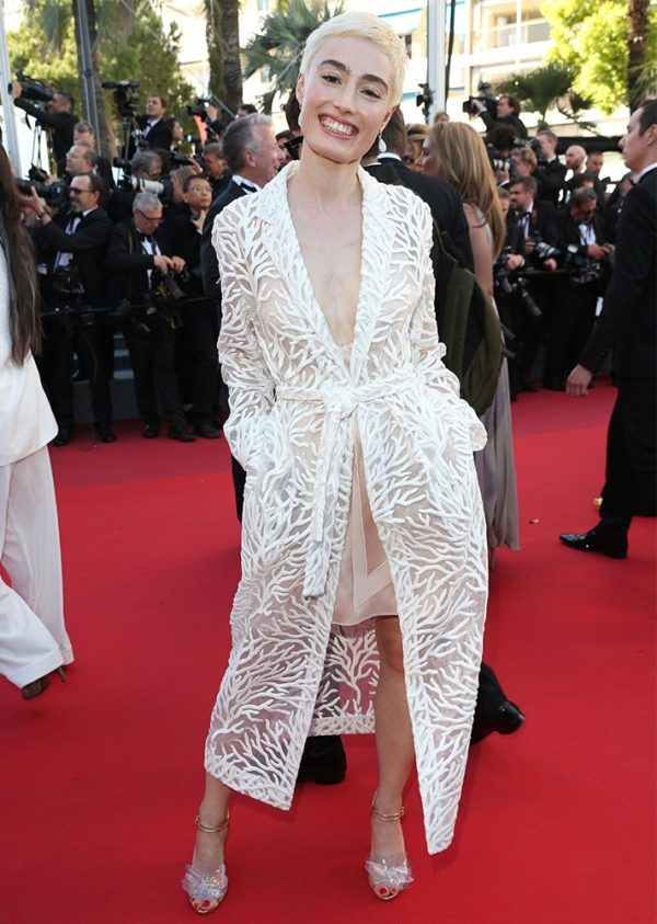 Elsa Muse at Cannes Film Festival 2017