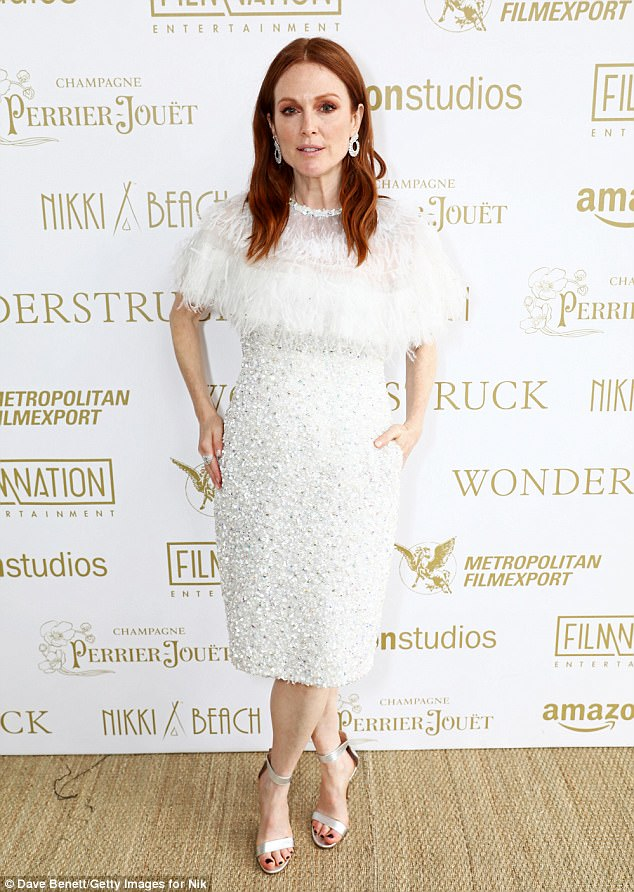 Julienne Moore at Cannes Film Festival 2017