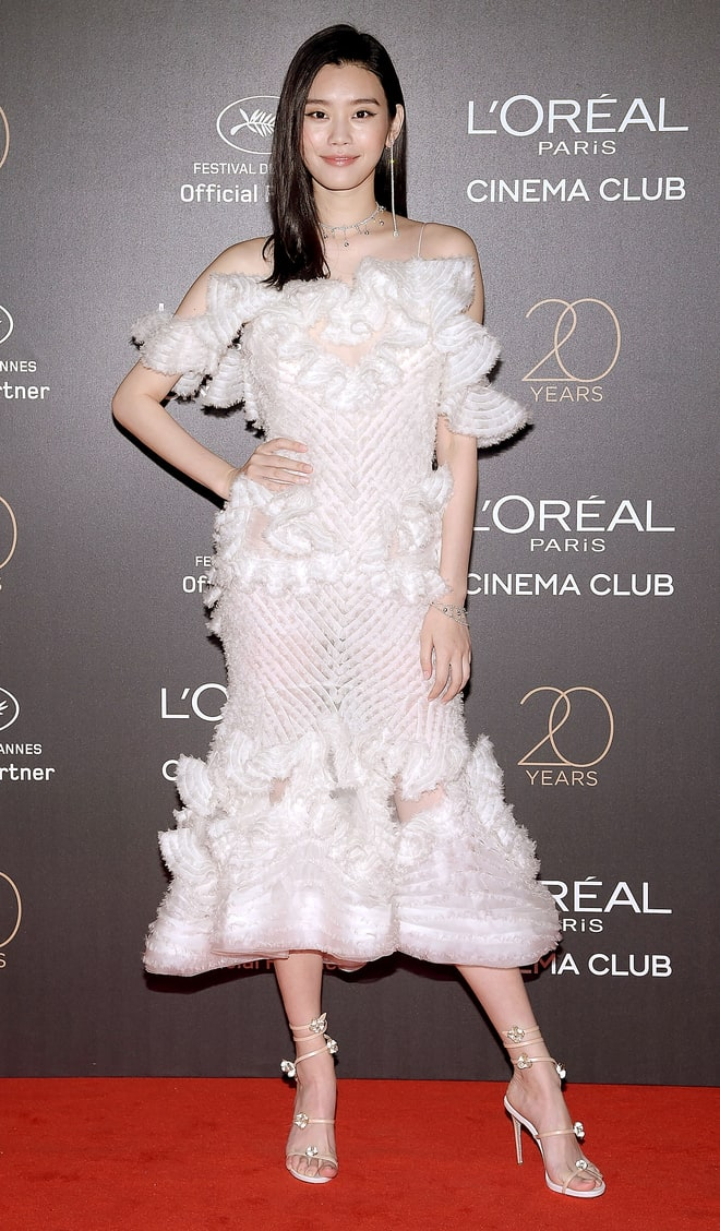 Ming XI at Cannes Film Festival 2017