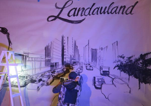 Landauland celebration for the 40th anniversary of the Adrienne Landau brand