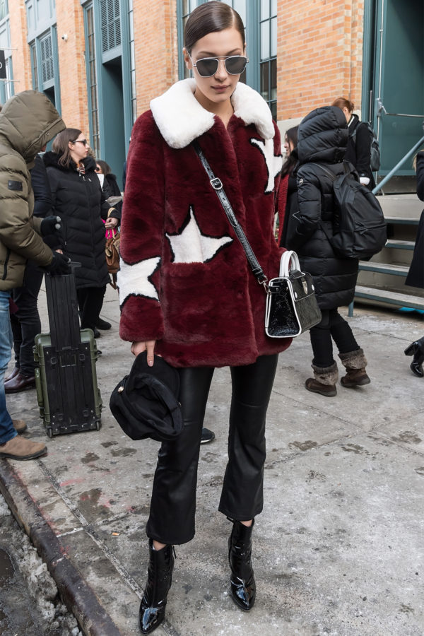 Bella Hadid is one of the leading fashion influencers