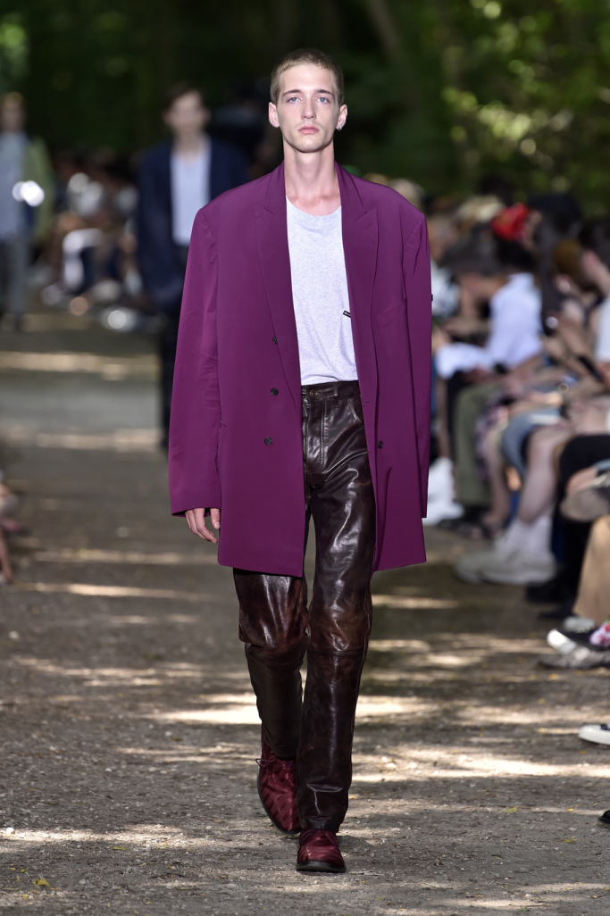 Balenciaga Men's Spring/ Summer 2018