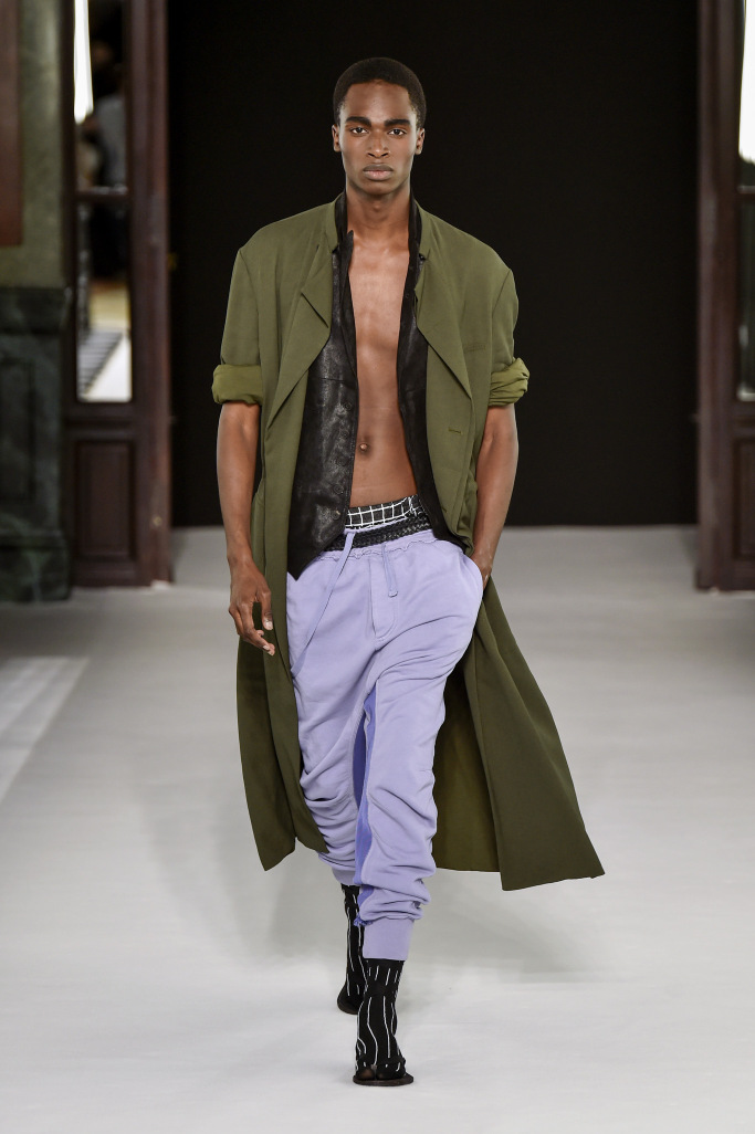 Haider Ackermann Men's Spring/ Summer 2018