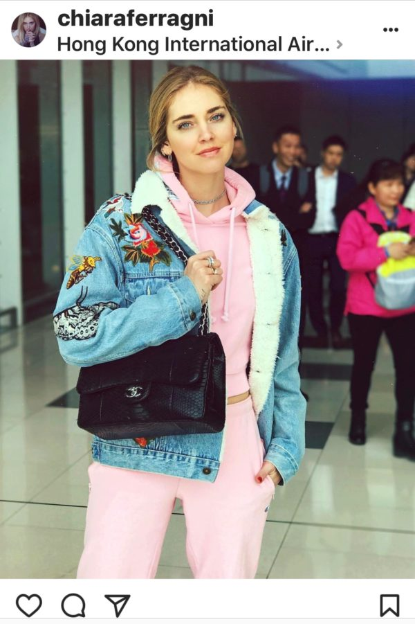 Luxury Fashion and style influence and blogger Chiara Ferragni of The Blonde Salad