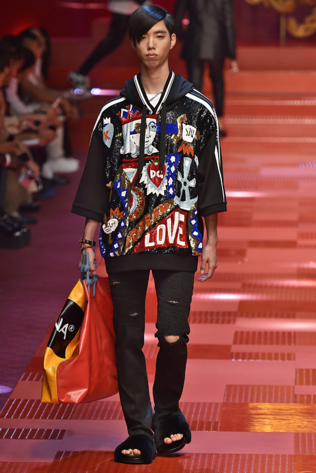 Dolce & Gabbana Men's Spring/ Summer 2018